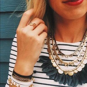 Stella & Dot plume Necklace